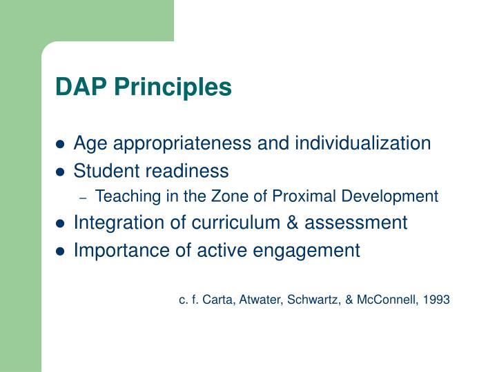 DAP Principles