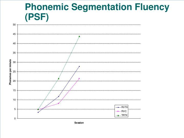 Phonemic Segmentation Fluency (PSF)