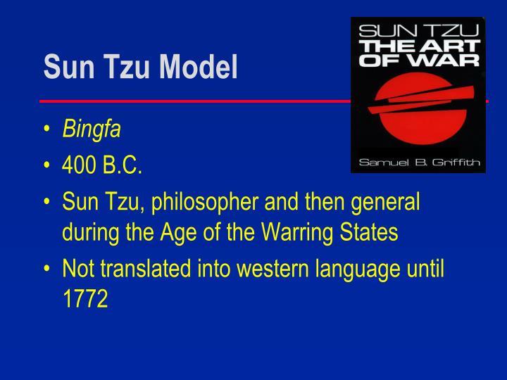 Sun Tzu Model