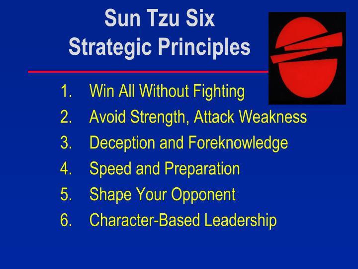Sun Tzu Six