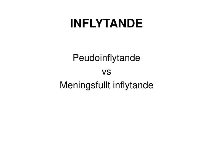 INFLYTANDE