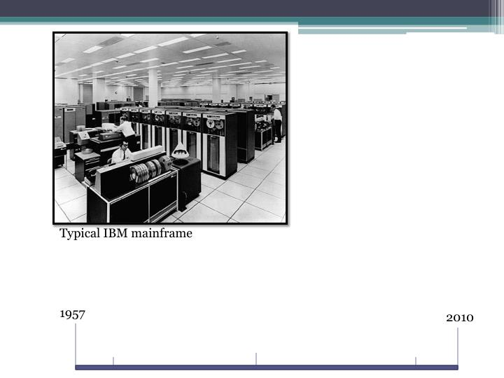 Typical IBM mainframe