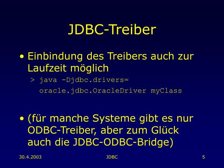 JDBC-Treiber