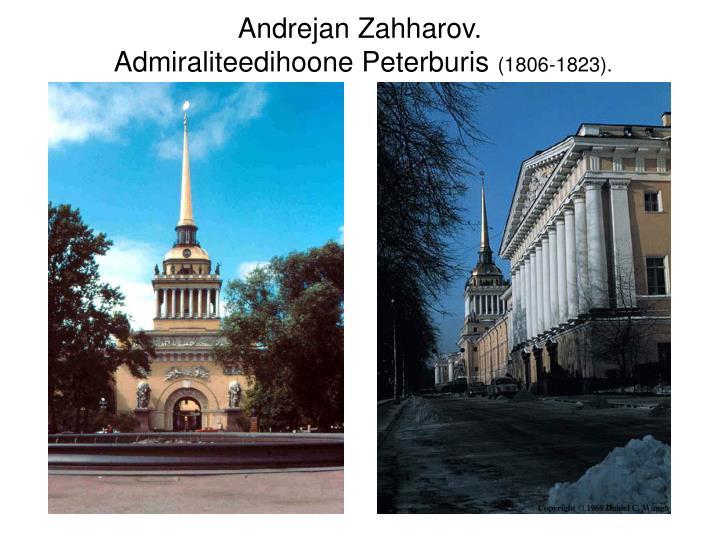 Andrejan Zahharov.