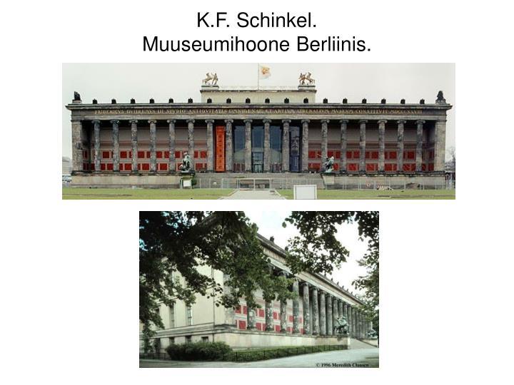 K.F. Schinkel.