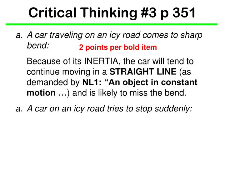 Critical thinking 3 p 3511