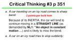 critical thinking 3 p 3511