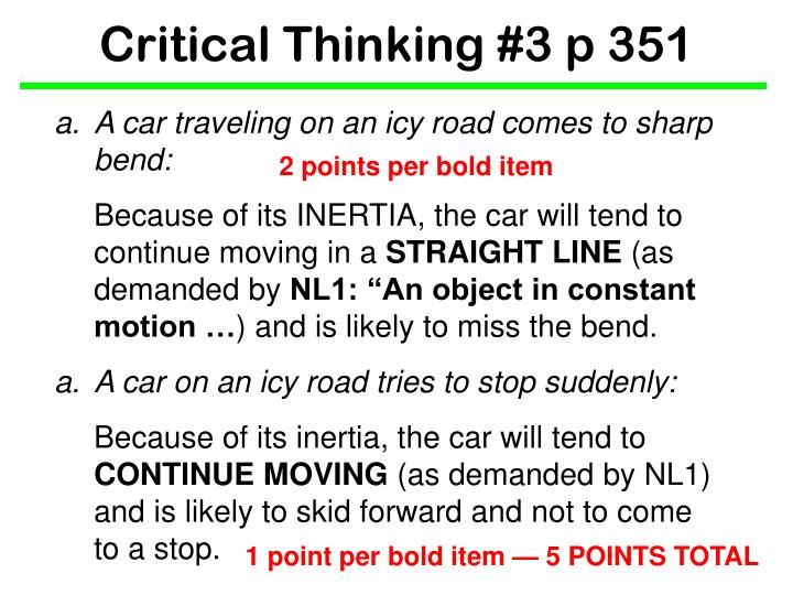 Critical thinking 3 p 3512