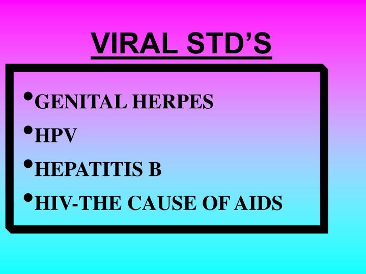 VIRAL STD'S