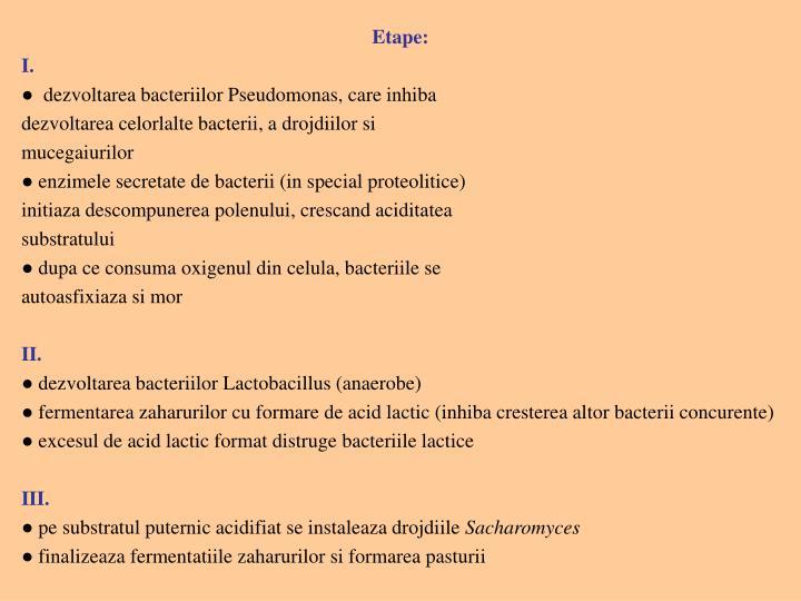 Etape: