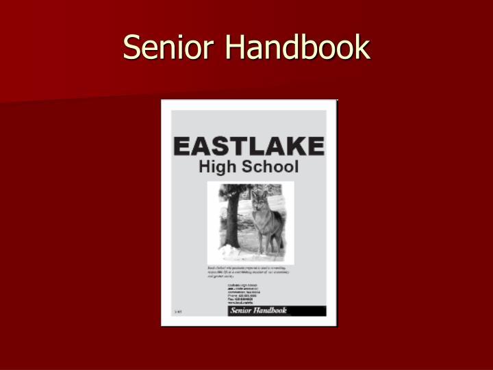 Senior Handbook