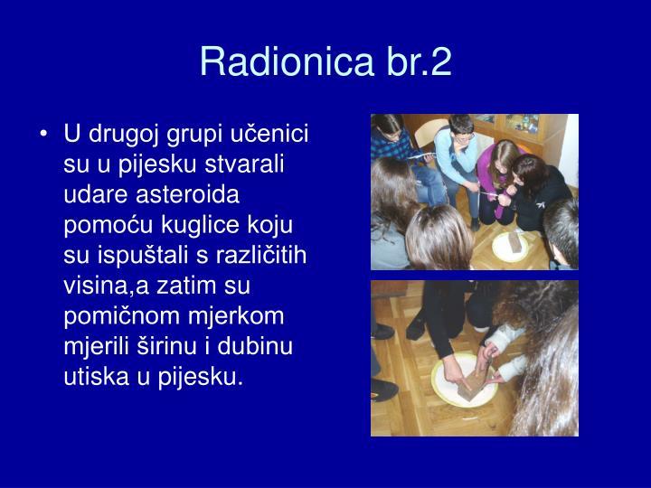 Radionica br.2
