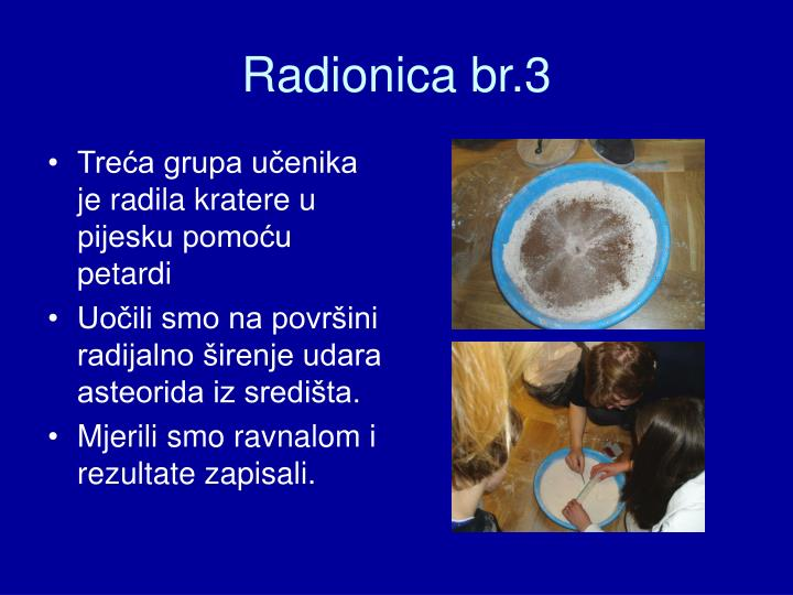 Radionica br.3