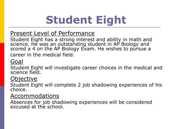 Student Eight