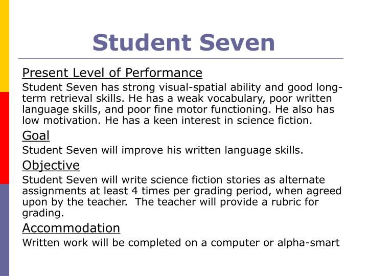 Student Seven