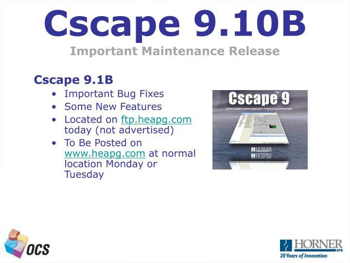 Cscape 9.10B