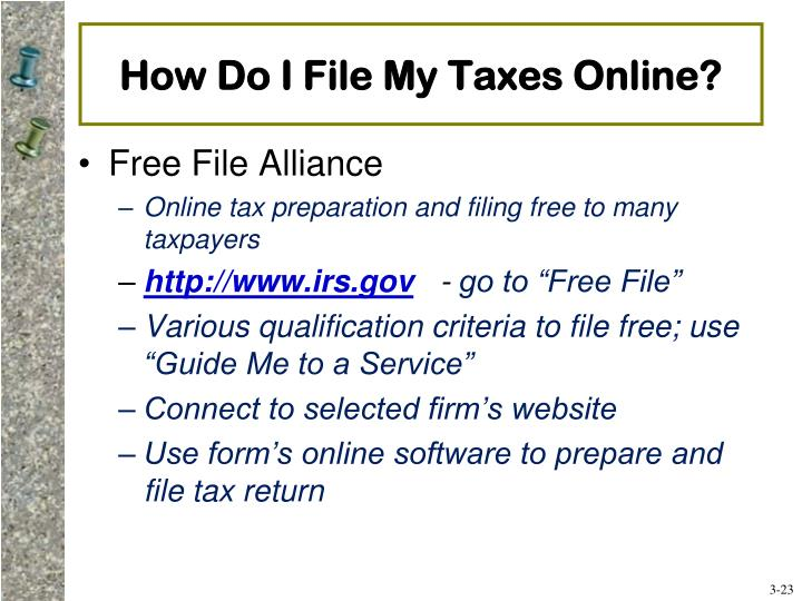 How Do I File My Taxes Online?