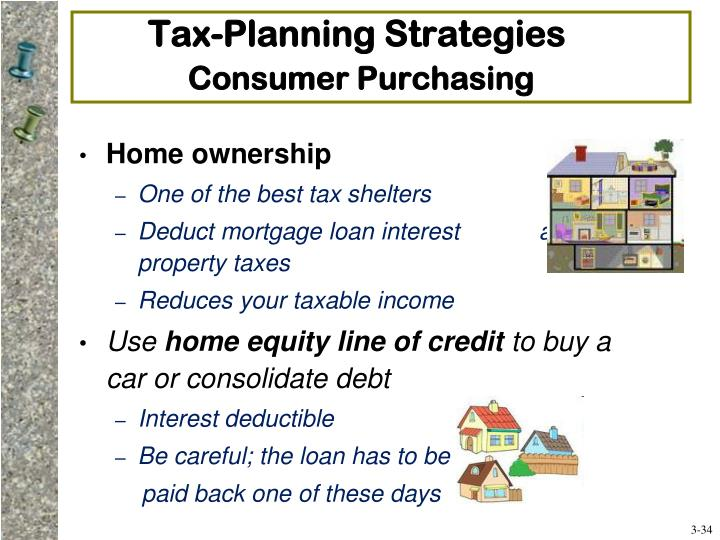 Tax-Planning Strategies