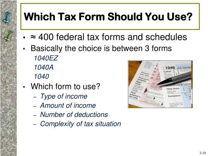 Which Tax Form Should You Use?
