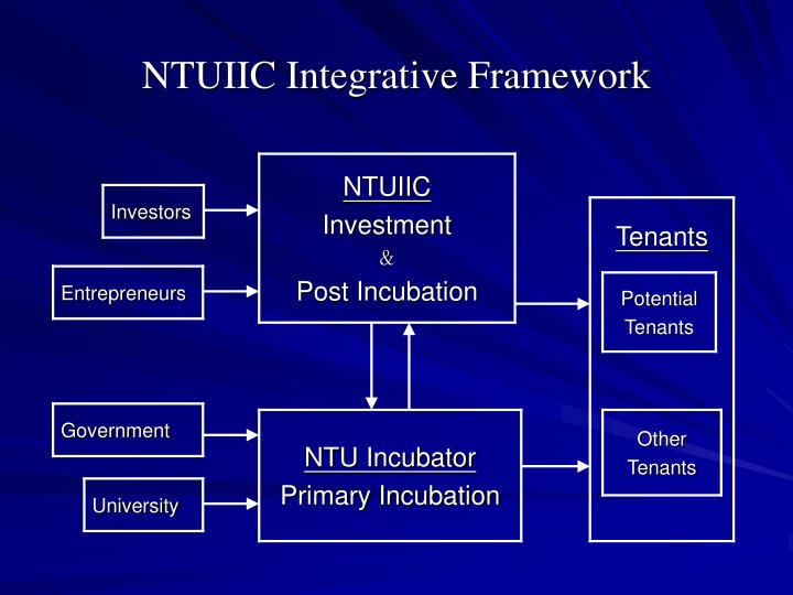 NTUIIC Integrative Framework