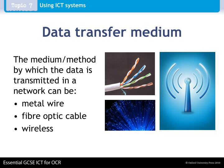 Data transfer medium