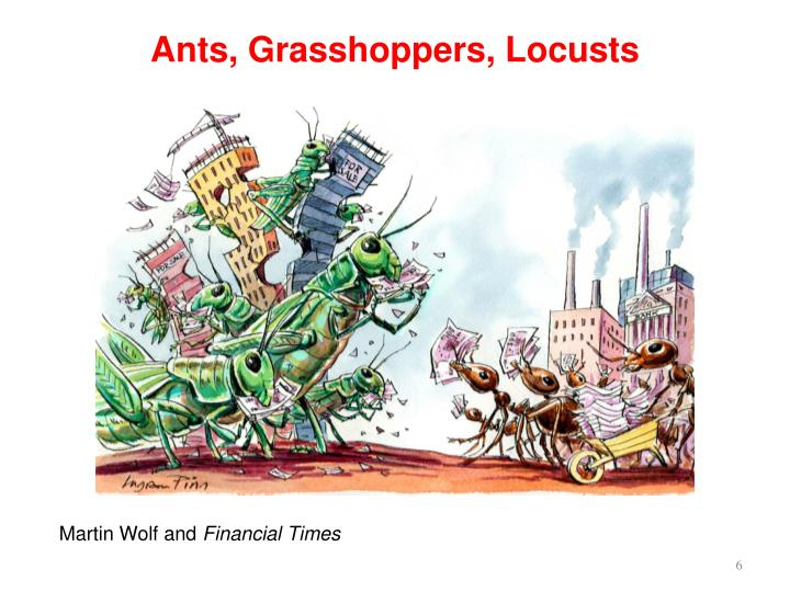 Ants, Grasshoppers, Locusts