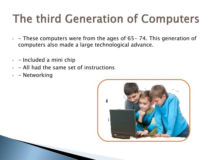 The third Generation of Computers