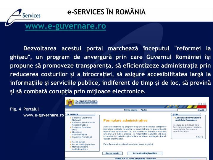 www.e-guvernare.ro
