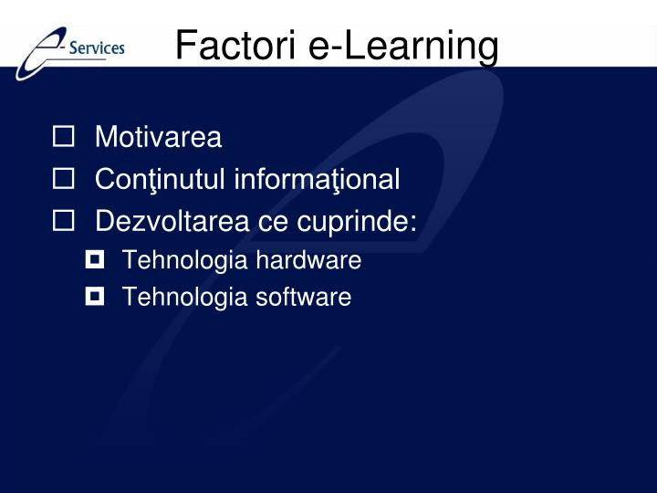 Factori e-Learning
