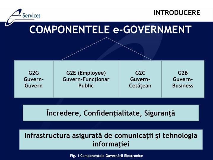 COMPONENTELE e-GOVER