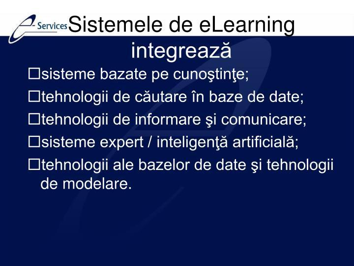 Sistemele de eLearning