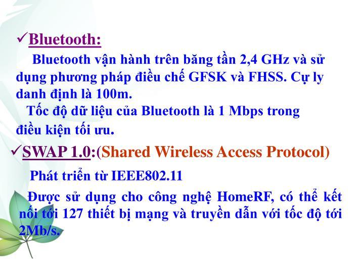 Bluetooth: