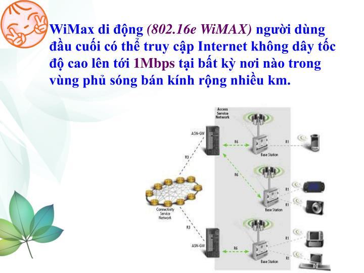 WiMax di động