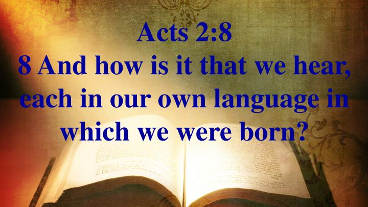 Acts 2:8