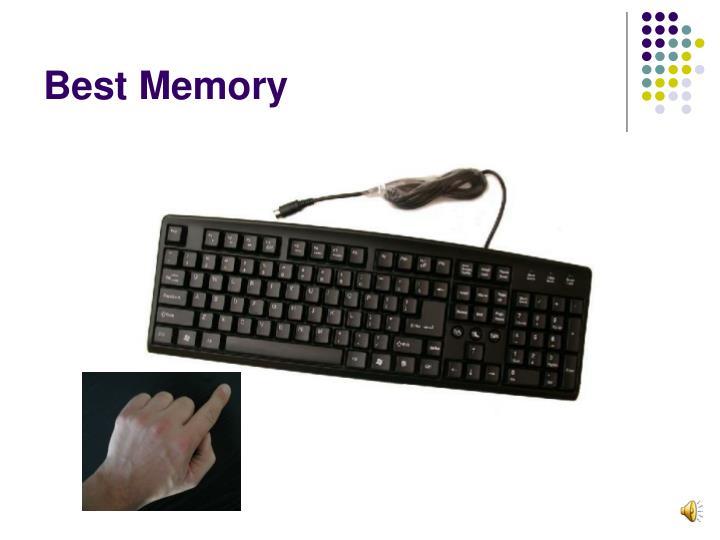 Best Memory
