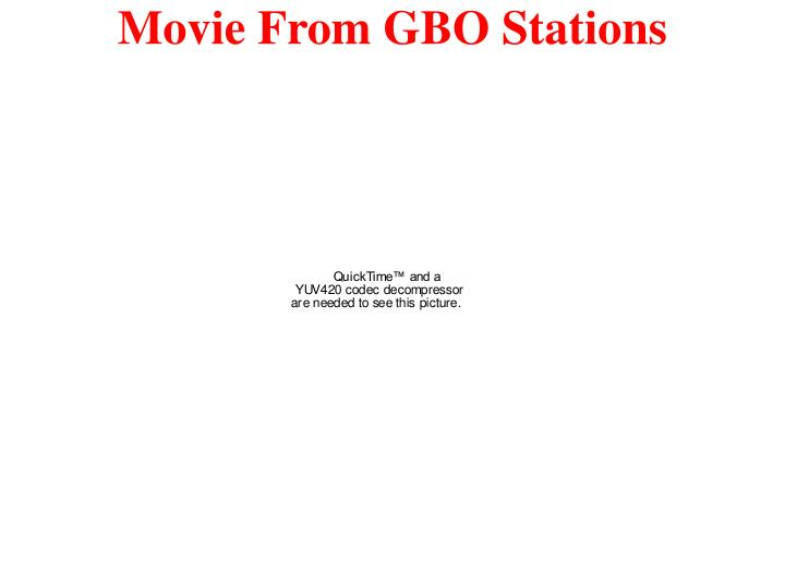 Movie From GBO Stations
