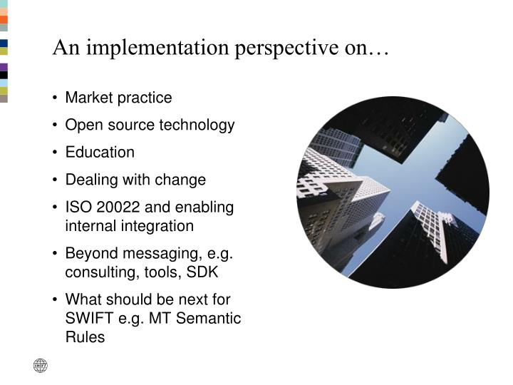 An implementation perspective on…