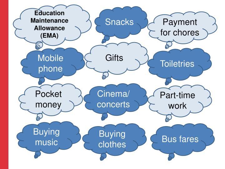 Education Maintenance Allowance (EMA)