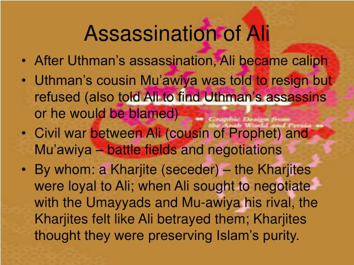 Assassination of Ali