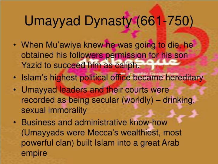 Umayyad Dynasty (661-750)