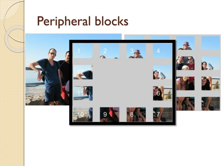 Peripheral blocks