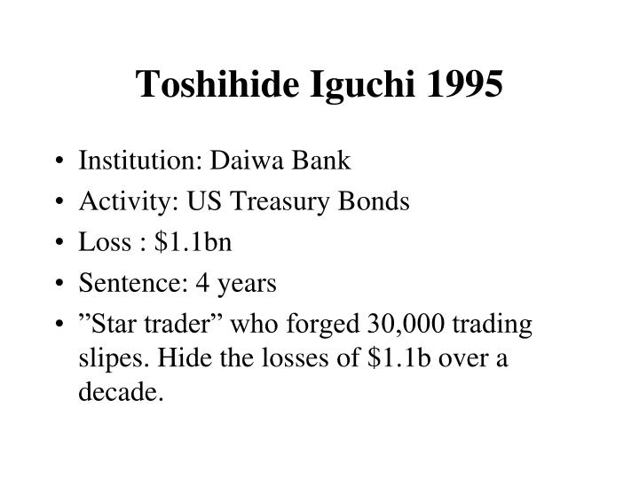 Toshihide Iguchi 1995
