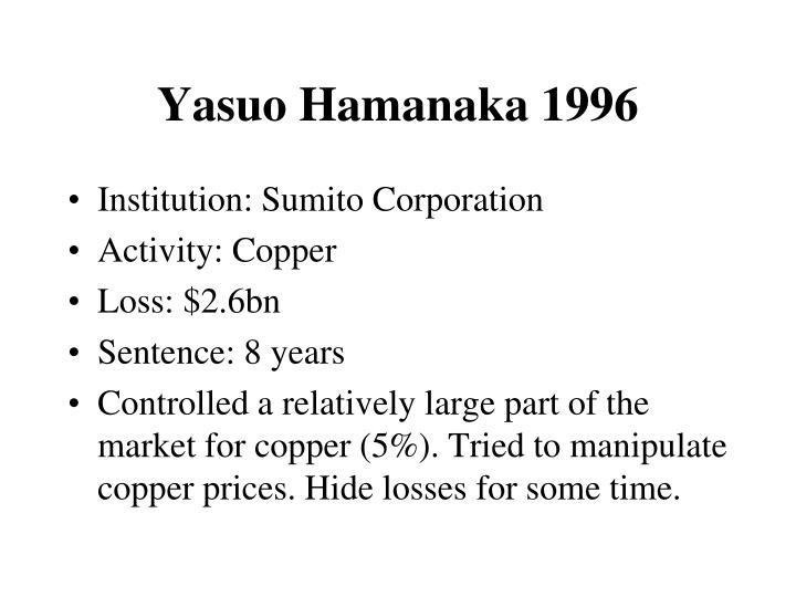 Yasuo Hamanaka 1996