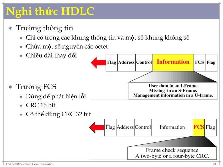 Nghi thức HDLC