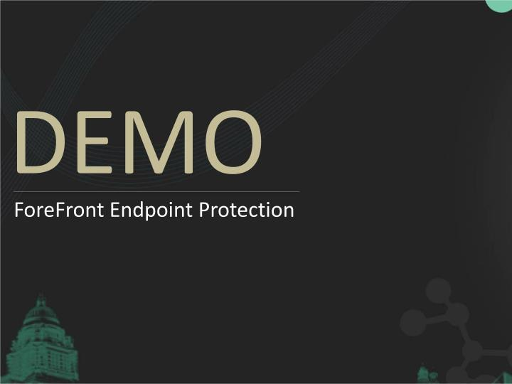 ForeFront Endpoint Protection