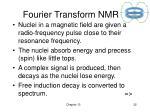 fourier transform nmr