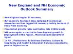 new england and nh economic outlook summary