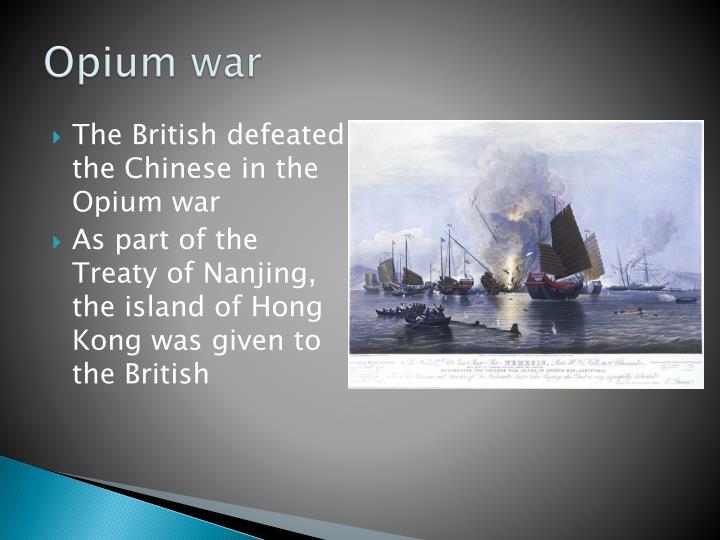 Opium war