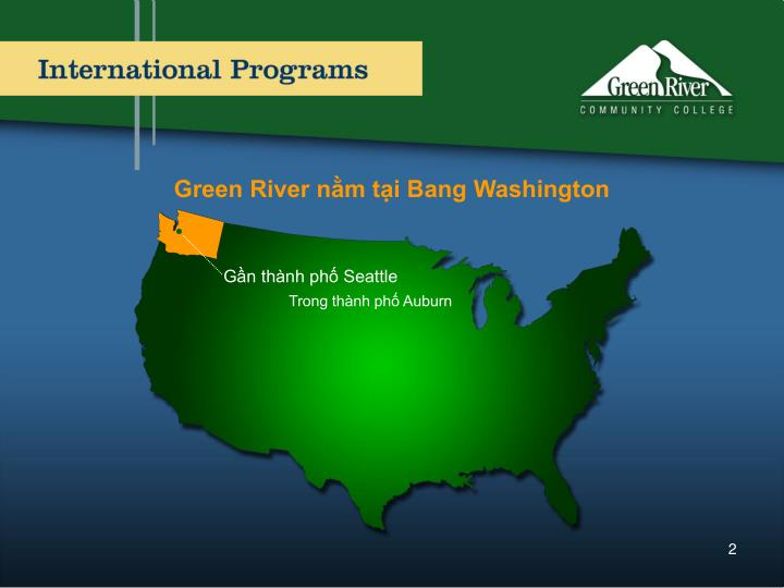 Green River nằm tại Bang Washington