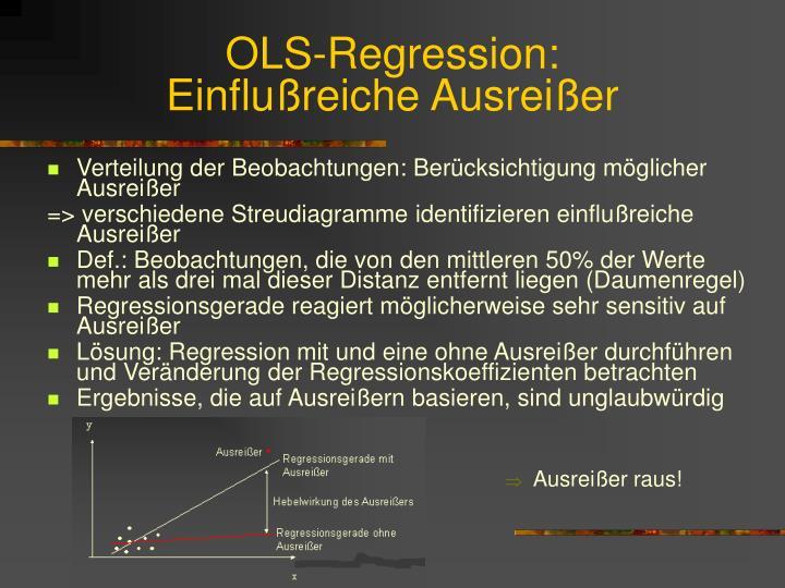 OLS-Regression: